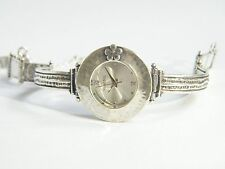 W00673 SHABLOOL ISRAEL Didae Handcrafted Sterling Silver 925 Bracelet Watch