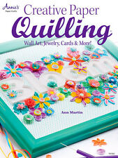 CREATIVE PAPER QUILLING-Quilled-3D-Piecing Craft Book-Cardmaking-Jewelry-Cards