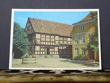 Postcard- View of the old town square, Aarhus, Denmark.