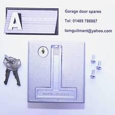 Henderson Merlin garage door flush type lock handle