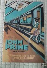 JOHN PRINE FILLMORE POSTER Tom Russell F691 ORIGINAL BILL GRAHAM O'Hara