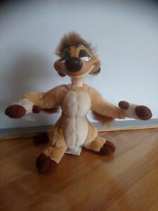 Peluche Timon 20 cm roi lion tête dure bras positionnables Disney Mattel 1994