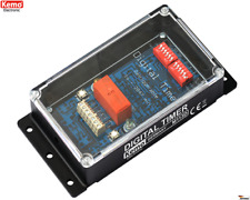 Zeitschalter Digital 12 V/DC M113D Kemo