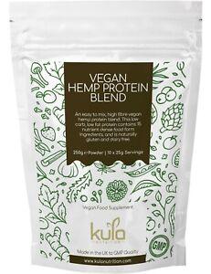 Hemp Protein Powder Shake Blend plus 15 Vegan Superfoods - Kula Nutrition - 250g