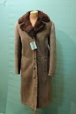 Traumhafter Lamm Fell Mantel Gr 46/XL Handarbeit Shearling Vintage Leder TOP