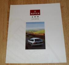 Rover 400 Tourer Brochure 1994 416 SLI 418 SLD Turbo 420 GSI