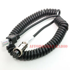 Yaesu to Kenwood modular microphone cable MD-100 MD-200 MD-1 TS-480 TM-V7 TM-V71