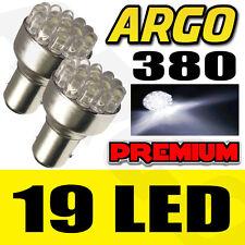 19 del 380 blanc feu de stop arrière Phare fin Lampe Ampoule 1157 BAY15D P21W