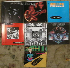 LOT of 7 STEVE MILLER BAND 45rpm Picture Sleeves (ONLY) NO 45s!!