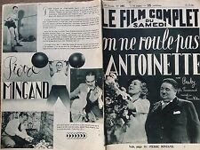 """LE FILM COMPLET 1936 N 1861 """" ON NE ROULE PAS ANTOINETTE """" avec SIMONE RENANT"""