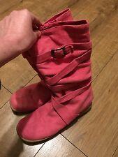 Mujeres/Niñas Botas, Caliente Rosa Talla 7 Impecable Usado Una Vez!!!