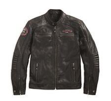 Harley Davidson Cruiser Perforated Leather Jacket CE APPROVED 97183-17EM M