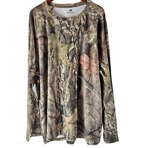 Mossy Oak Camo Insect Repellent Long Sleeve T-Shirt Mens 3XL (54-56) NWT