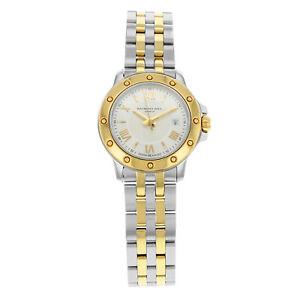 Raymond Weil Tango Steel Gold Tone Quartz Ladies Watch 5399-STP-00657