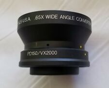 Century Precision Optics DS-65CV-SB .65X Wide Angle Converter Lens PD150/VS2000