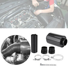 Carbon Fiber Air Feed Cold Filter Intake System Pipe Induction 3'' Extension Kit