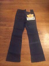 Vtg Nwt Rare Orange Tab 517 Boot Cut Black Bar Usa Zipper 29 30 Tapered Leg