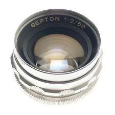 Prime f/2 Vintage Camera Lens