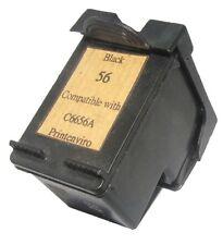 Printenviro 1x HP 56 C6656A Black 5% More Remenufactured Ink Cartridge