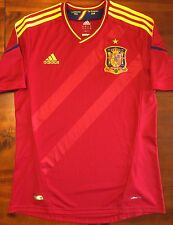 Mint Adidas SPAIN Euro 2012 Home M Soccer Jersey Football Shirt Camiseta RFEF