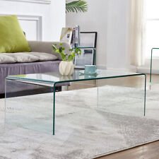 Glass Coffee Table End/Side/Cocktail Table Living Room Table