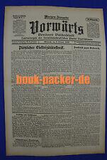VORWÄRTS (6. Oktober 1920): Plötzlicher Elektrizitätsstreik