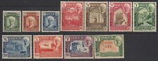 ADEN  (Shihr & Mukalla)  1942-46  definitive set  SG 1-11  MM