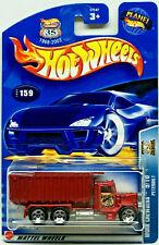 Hot Wheels 2003 Work Crewsers PETERBILT Big Eds Cement (Red) #159