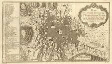 'Plan de la ville et Cité de St. Francois de Quito'. Ecuador. BELLIN 1756 map