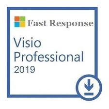 Genuine ✔️ Visio 2019 Pro ✔️ Professional  ✔️Lifetime  ✔️1 PC ✔️ Fast Response
