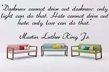Vinyl Wall Decal Sticker Decor Saings Quotes Inspiring Martin Luther King F1989