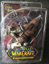 World Of Warcraft Series #6: Gibbz Sparklighter Action Figure Brand New, OOP