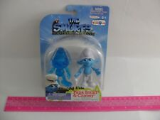 NEW! THE SMURFS ESCAPE FROM GARGAMEL FIGURE SET - PAPA SMURF & CLUMSY - 2011