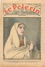Alice Tissot Rôle la Vierge au Pied la Croix Jésus Saulaie-Oullins Rhône 1935