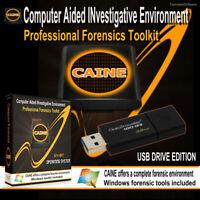 CAINE Professional Windows Digital Forensic Security Utilities Toolkit 32GB USB