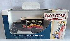LLEDO DAYS GONE FORD MODEL A VAN SUNLIGHT FLAKES DIECAST BOXED DGO13080