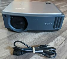 Sony Bravia Projector VPL AW10 3LCD Tested Works Great Low Lamp Hours No Remote