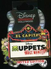 DSF DSSH El Capitan Marquee Muppets Most Wanted LE Disney Pin 100420