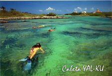 AK  -  Postcard   -  neu / new  -  Akumal > Yal-Ku  -   dive in  Mexico