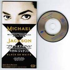 "MICHAEL JACKSON Black Or White JAPAN 3""CD ESDA 7083 KIRARA BASSO 2 Unsnapped"