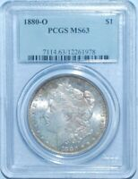 1880 O PCGS MS63 Morgan Silver Dollar