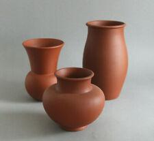 GERMAN BAUHAUS | Three KLINKRO stoneware urn vases (1930/35)