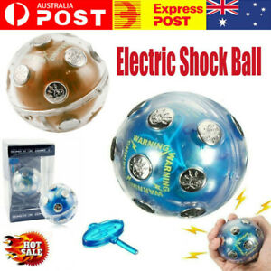 Shock Ball Fun Party Game in Box Shocking Ball Games Vent Electric Ball Toys