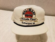 Vintage WALMART Hat Snapback EMBROIDERED Trucker Cap MADE in USA ~ FAST  SHIP! A ff0a9db629f