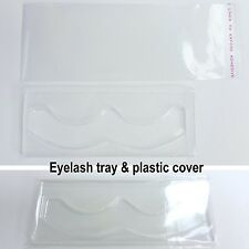 Individual pair false eyelash tray packaging  x 10 sets