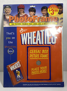 Vintage Wheaties Cereal Box Picture Photo Frame Insert Photo Kids New Free Ship!