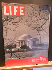 WWII Life Magazine April 12 1943 Night Bombing, China's Air Task Force,