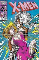 Uncanny X-Men Comic 214 Copper Age First Print 1987 Chris Claremont Marvel