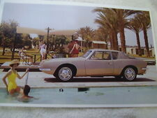 New Listing1963 Studebaker Avanti Plam Springs 11 X 17 Photo Picture