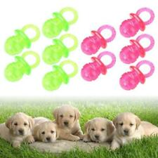 5 Pcs Puppy Chew Ball Toy for Dogs Cleaning Grind Teeth Bite Training Treat new